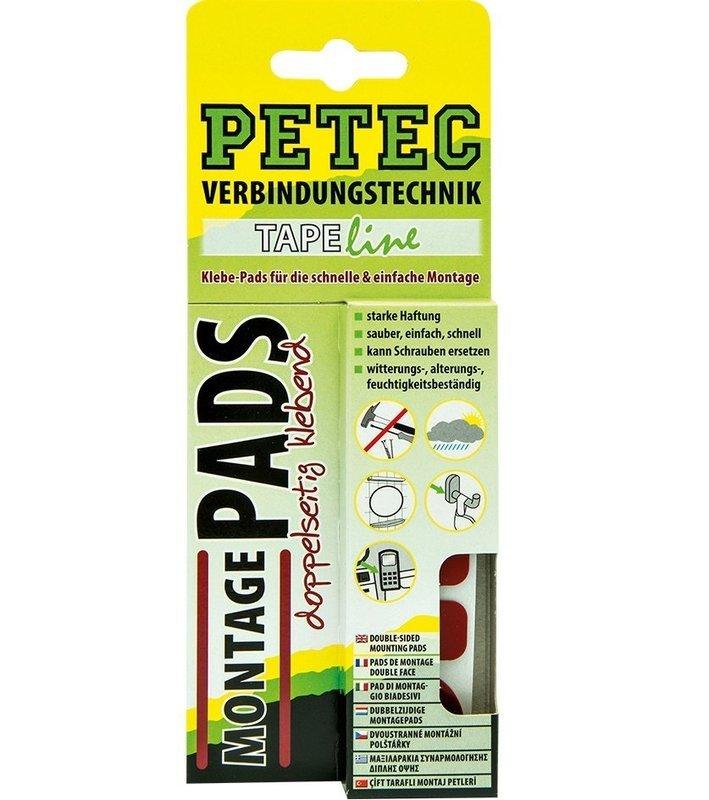 Petec montage pads set, inhoud: 3 st. blisterverpakking