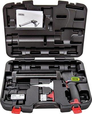 Petec multi-accu siliconenpistool koffer
