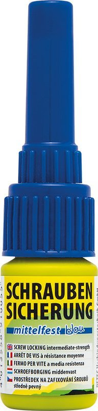 Petec schroefdraadborging middel vast blauw 5 gr. blister