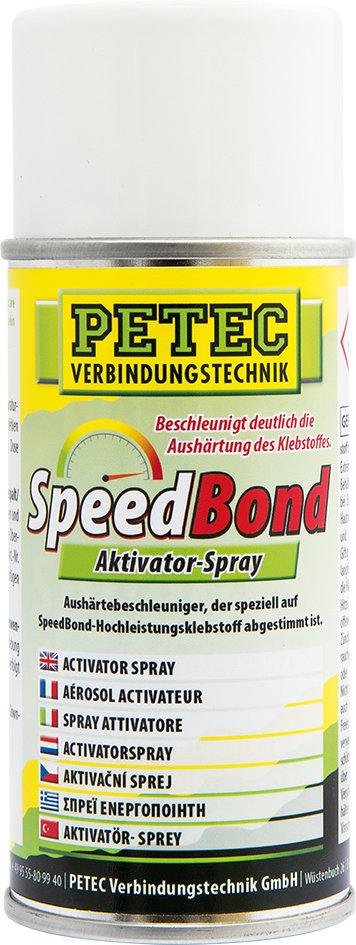 Petec speedbond activator spray 150 ml