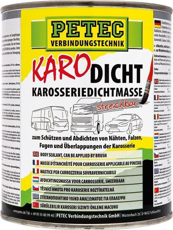 Petec afdichting voor carrosserie uitstrijkbaar 1 L