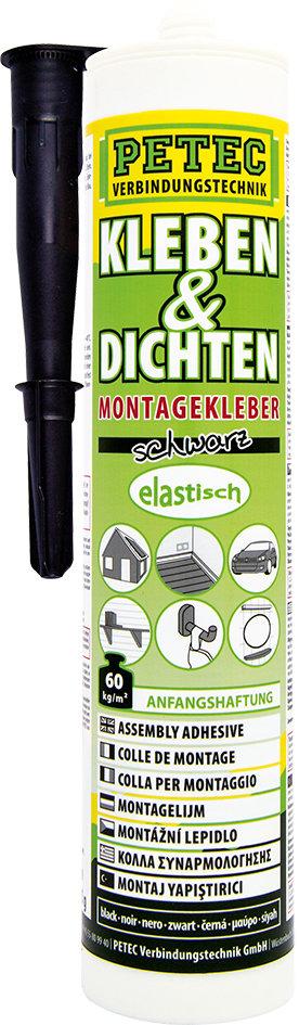 Petec montagekit ecoline zwart patroon 290 ml