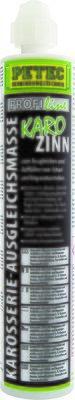 Petec Karo-Zinn carrosserie-egalisatiemiddel patroon 265 ml