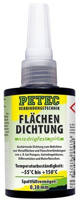 Petec vlakafdichting matig vast groen Persbox 75 ml