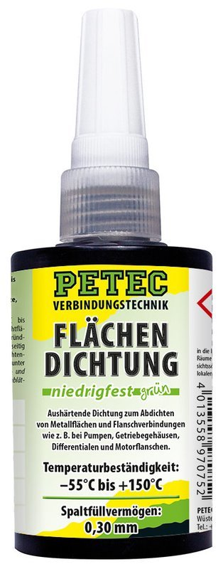 Petec vlakafdichting matig vast groen Persbox 75 ml