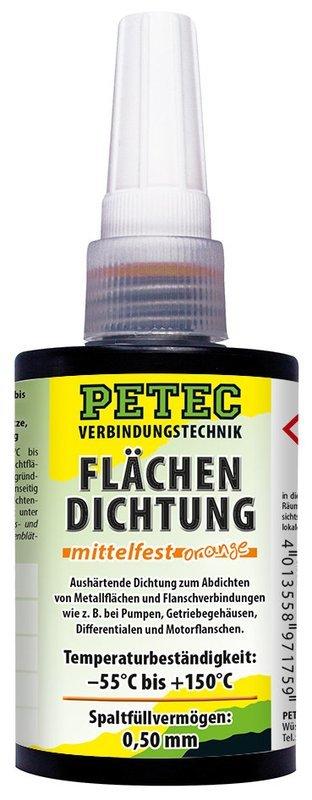 Petec vlakafdichting  middelmatig vast Persbox 75 ml