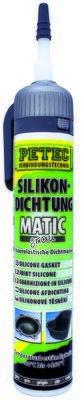 Petec matic SD siliconen afdichting grijs 200 ml