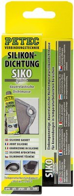 Petec siliconen afdichting grijs tube 70 ml blister