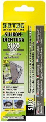 Petec siliconen afdichting grijs tube 70 ml blister