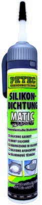 Petec matic SD siliconen afdichting zwart 200 ml