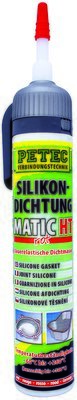 Petec matic HT siliconen afdichting rood 200 ml