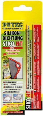 Petec siliconen afdichting rood tube 70 ml blister