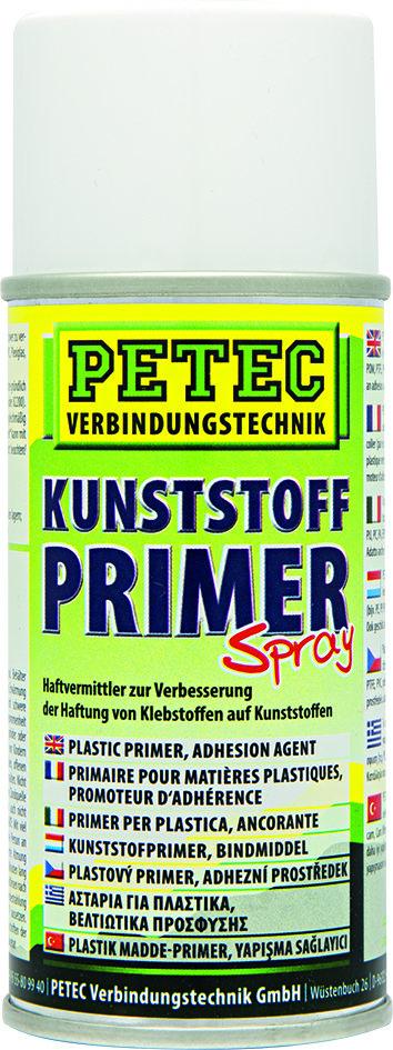 Petec kunststof primer spray, inhoud: 150 ml