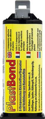 Petec plastbond 2-comp. lijm 50 ml + mengneus
