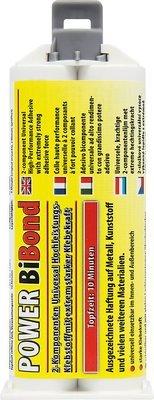 Petec Bibond 2-comp. lijm 10 min., 50 ml + mengneus