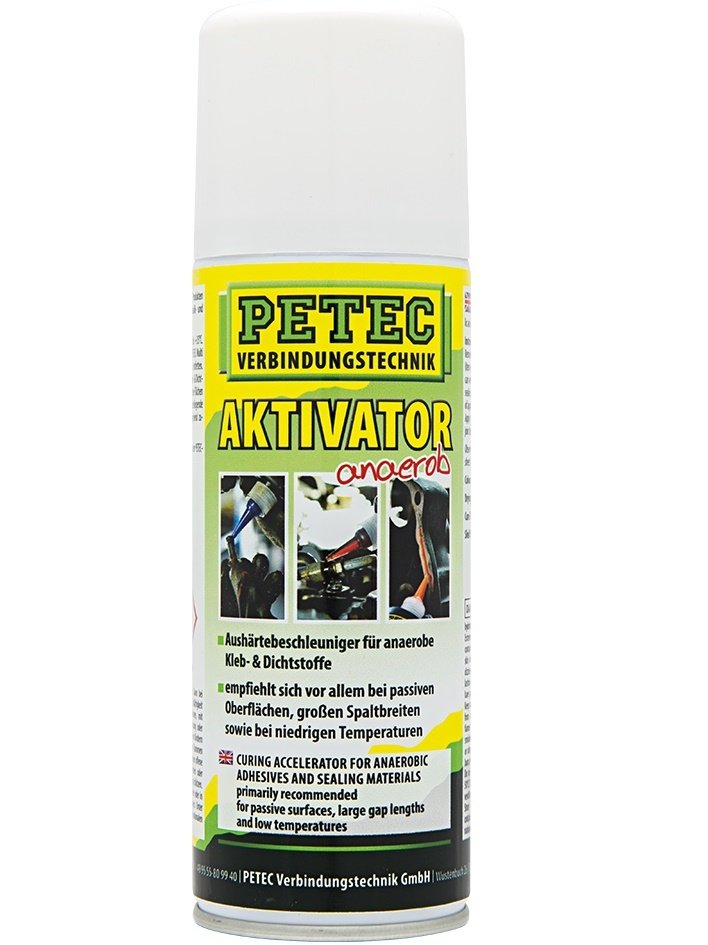 Petec activator spray voor anaerobe lijmen 200 ml