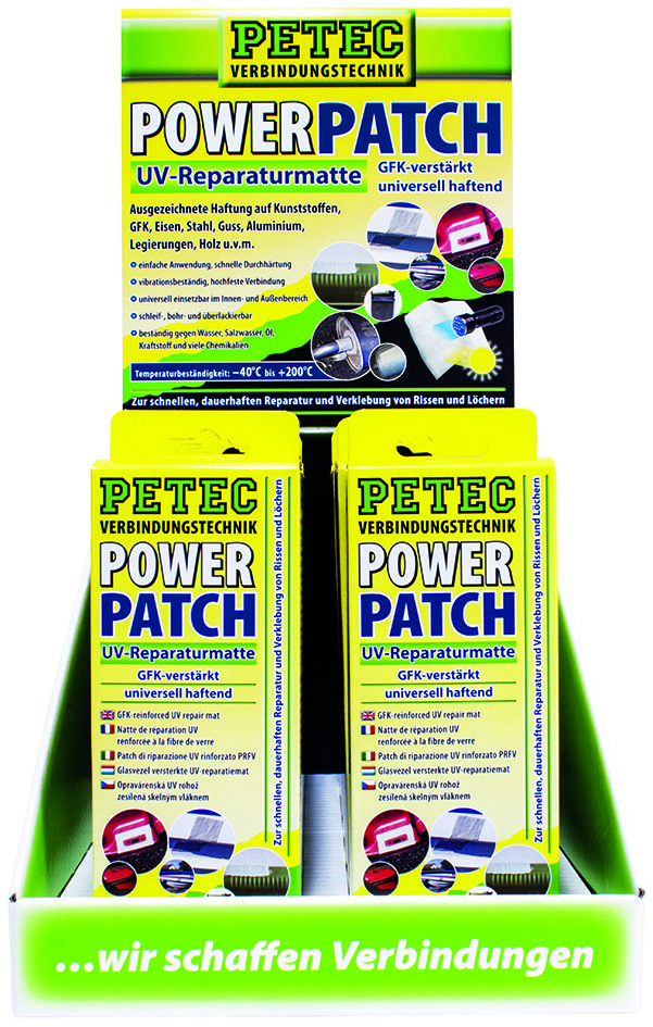 Petec display Power Patch UV, inhoud: 12 st.