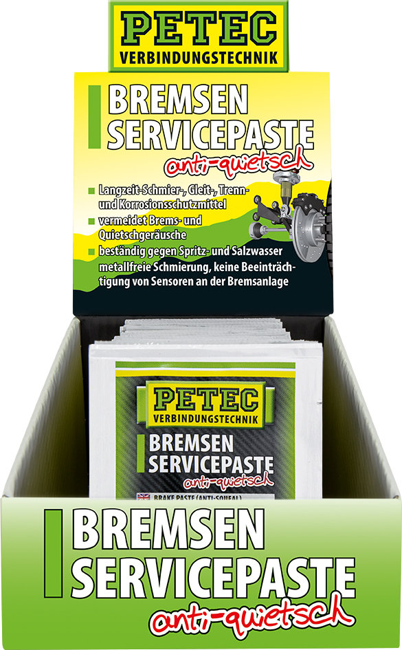 Petec display remservice pasta, inhoud: 50 x 5 gr.