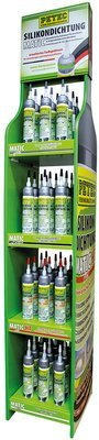 Petec display siliconen afdichting 200 ml, inhoud: 48 st.