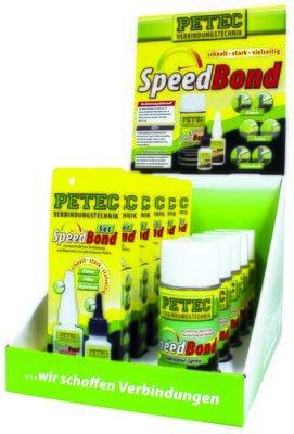 Petec display speedbond, inh: 6 x 93550 - 5 x 93515
