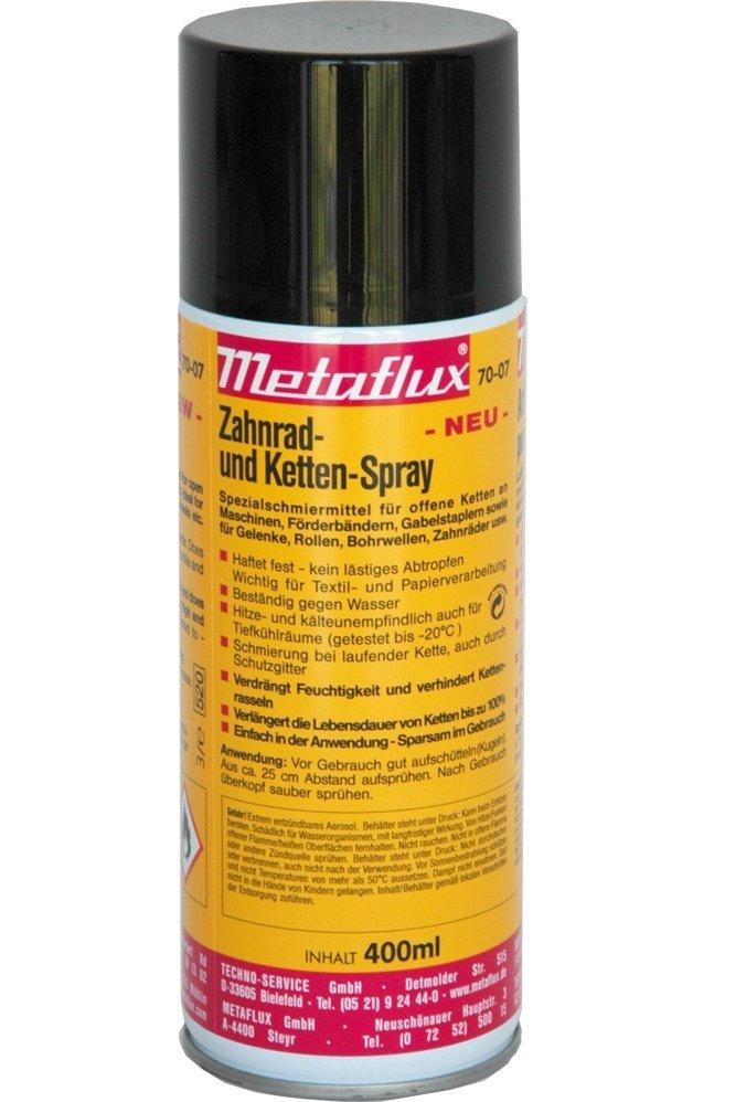 Metaflux ketting spray, inhoud: 400 ml