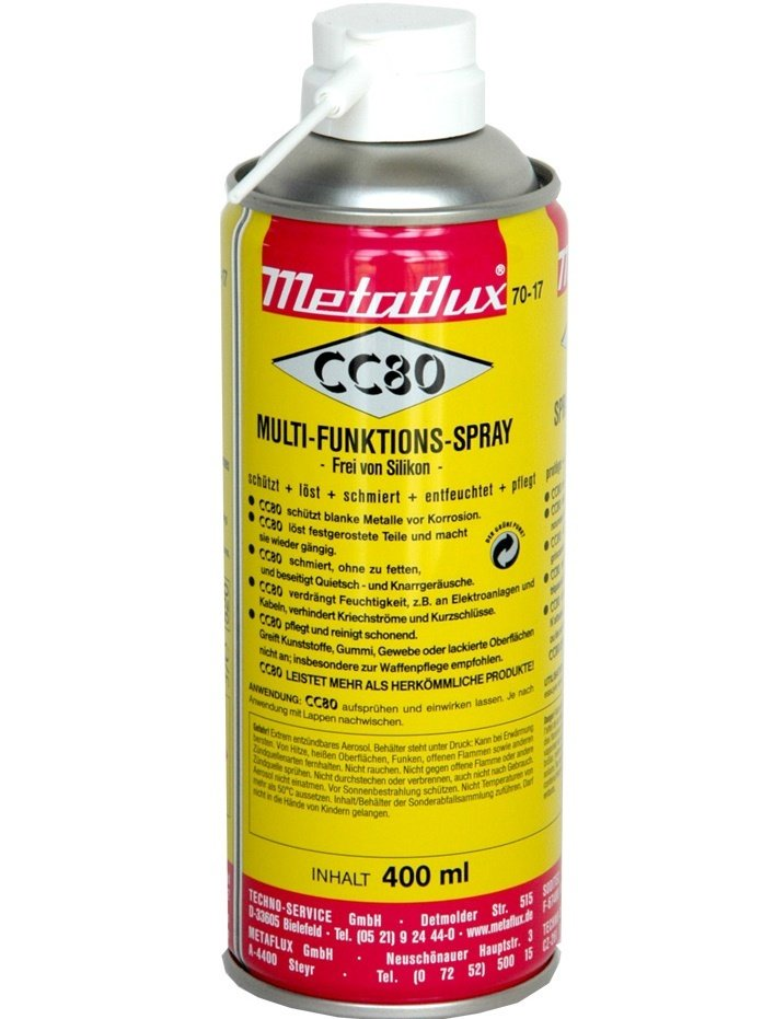 Metaflux multi functie spray CC80, inhoud: 400 ml