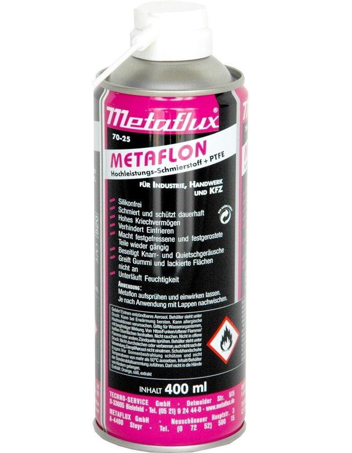 Metaflux metaflon spray, inhoud: 400 ml