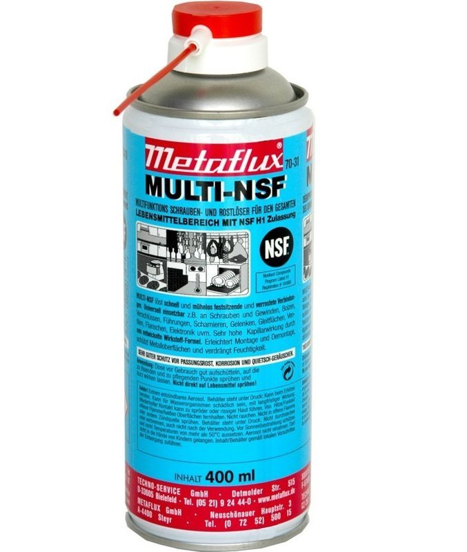 Metaflux multi NSF spray, inhoud: 400 ml