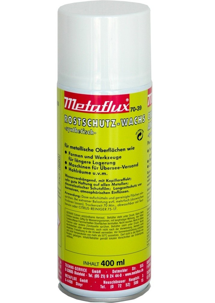 Metaflux anti-roest waxbescherming spray 400 ml