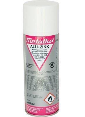 Metaflux alu zink spray, inhoud: 400 ml
