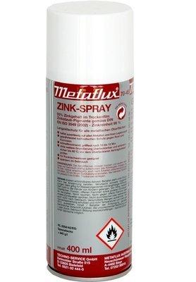 Metaflux zink spray, inhoud: 400 ml