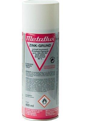 Metaflux zink grondering spray, inhoud: 400 ml