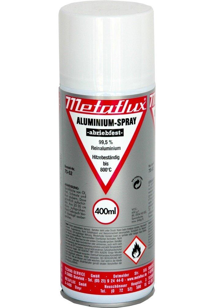 Metaflux aluminium spray bestand tegen wrijving 400 ml