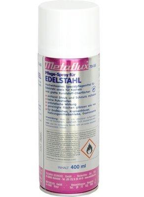 Metaflux inox reiniging en verzorging spray, inhoud: 400 ml