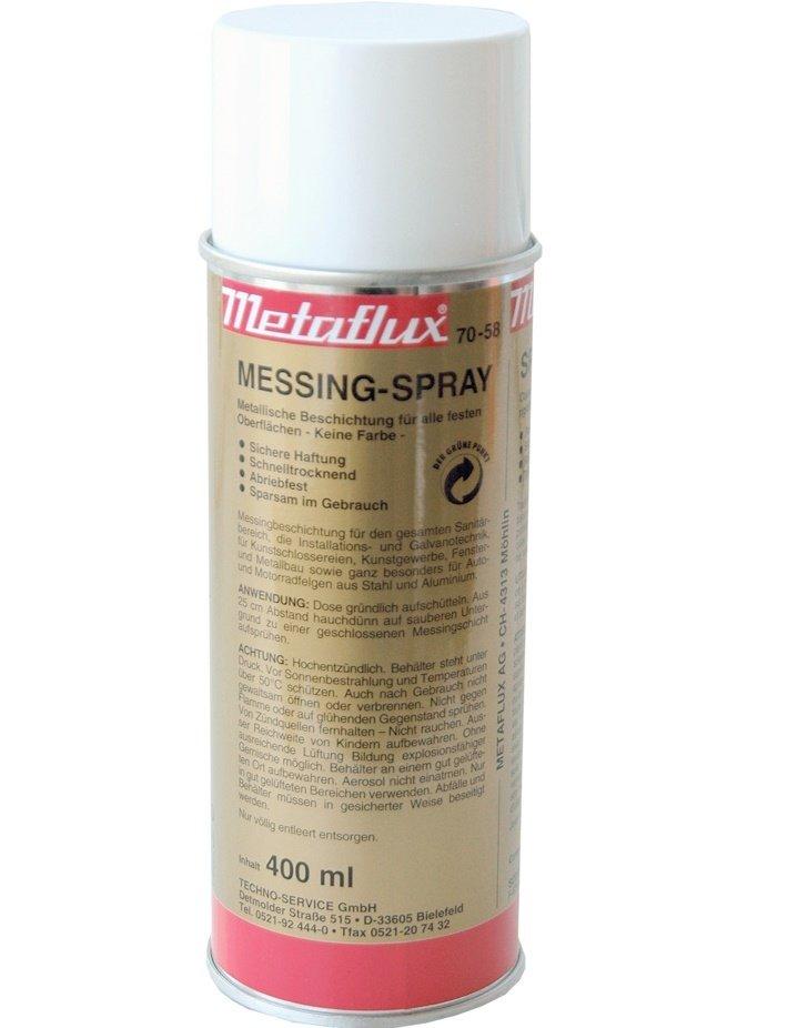 Metaflux messing spray, inhoud: 400 ml