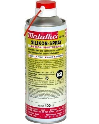 Metaflux siliconen spray NSF, inhoud: 400 ml