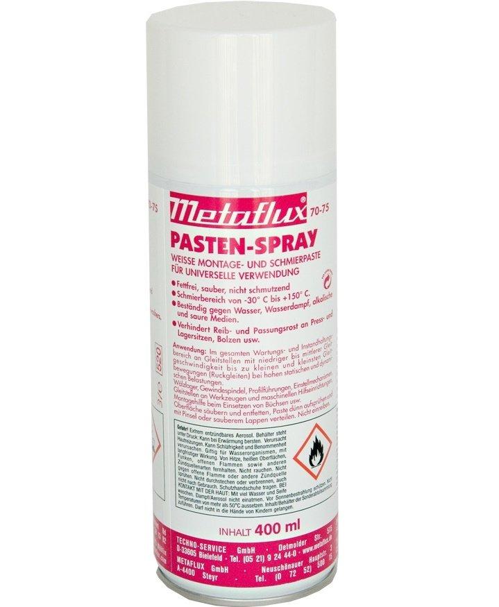 Metaflux wit vet in spray, inhoud: 400 ml