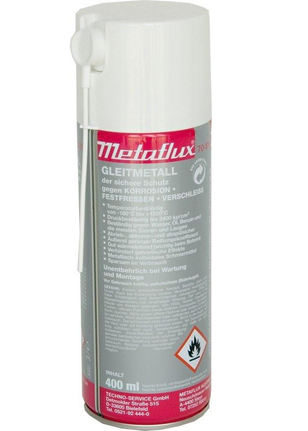 Metaflux glijmetaal spray, inhoud: 400 ml