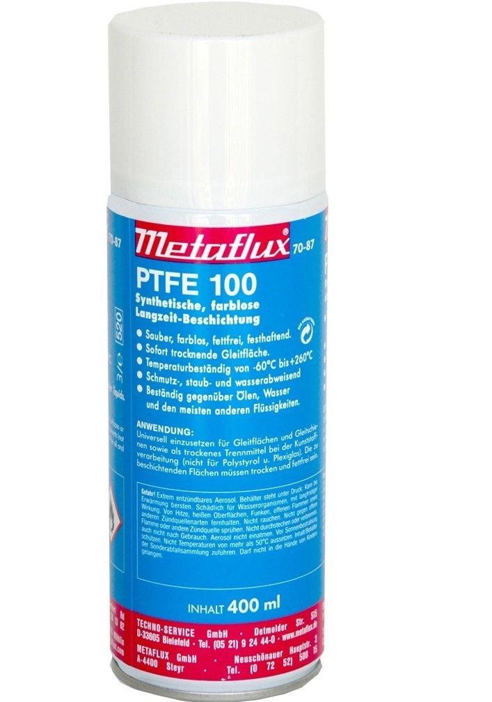 Metaflux PTFE 100 spray, inhoud: 400 ml