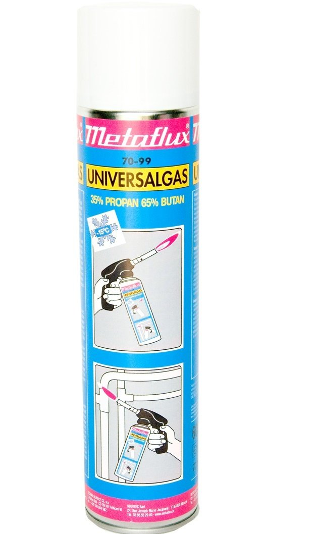 Metaflux universeel gas, inhoud: 600 ml