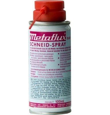 Metaflux snij- en boorolie spray, inhoud: 100 ml