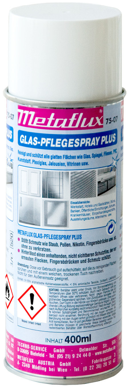Metaflux glasreiniger + spray, inhoud: 400 ml