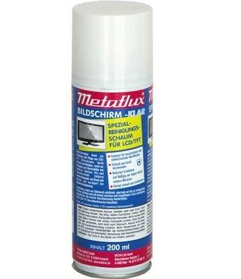 Metaflux schermreiniger spray, inhoud: 200 ml