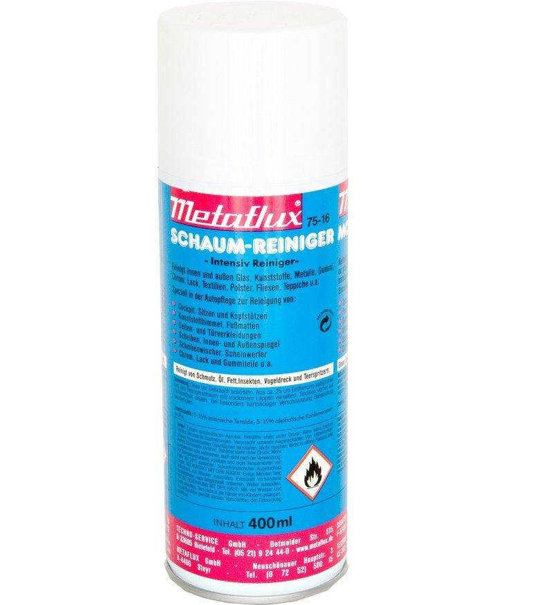 Metaflux schuim reiniger spray, inhoud: 400 ml