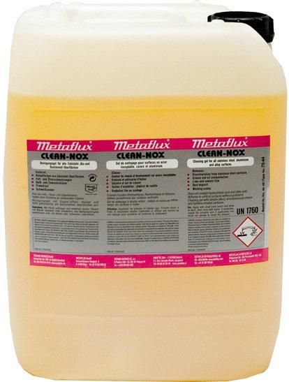 Metaflux clean nox gel, inhoud: 10 L
