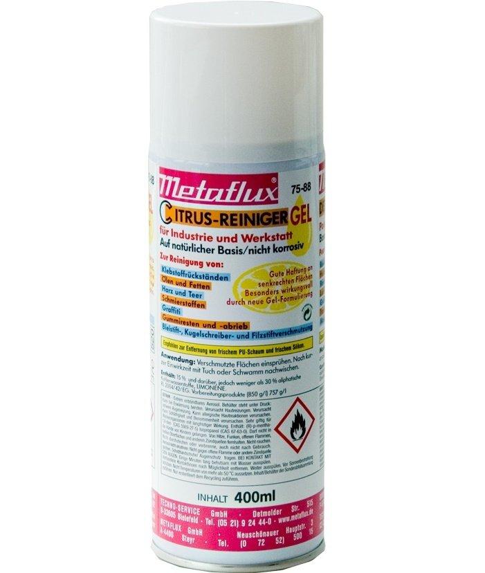 Metaflux citrus reiniger gel spray, inhoud: 400 ml