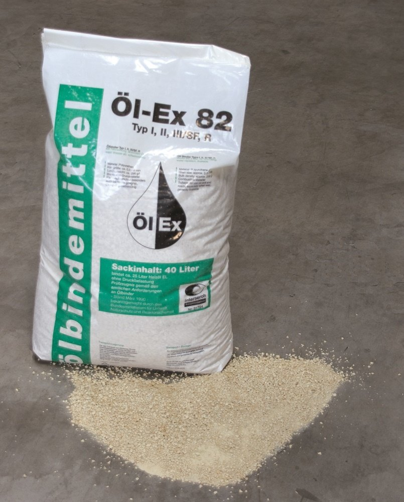 Metaflux absorptiekorrel voor olie, inhoud: 40 L