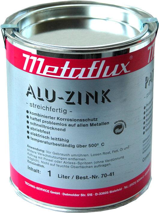 Metaflux alu zink pasta, inhoud: 1 L