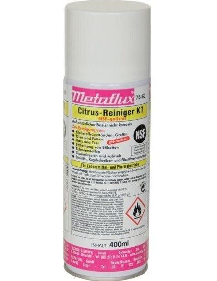 Metaflux citrus reiniger K1 NSF spray, inhoud: 400 ml