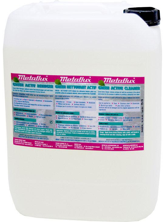Metaflux groen actief reiniger, inhoud: 30 L